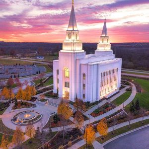 kansas-city-temple-autumn-sunset-aerial