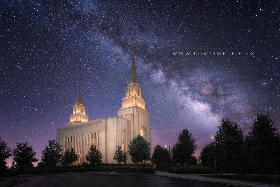 Kansas City Temple Celestial Print