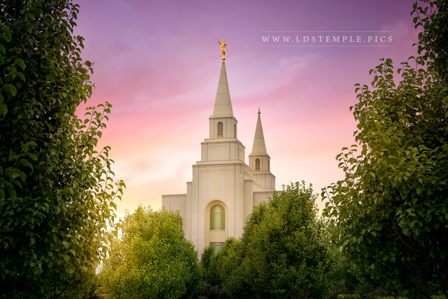 Kansas City Temple Glorious Day of Promise Print