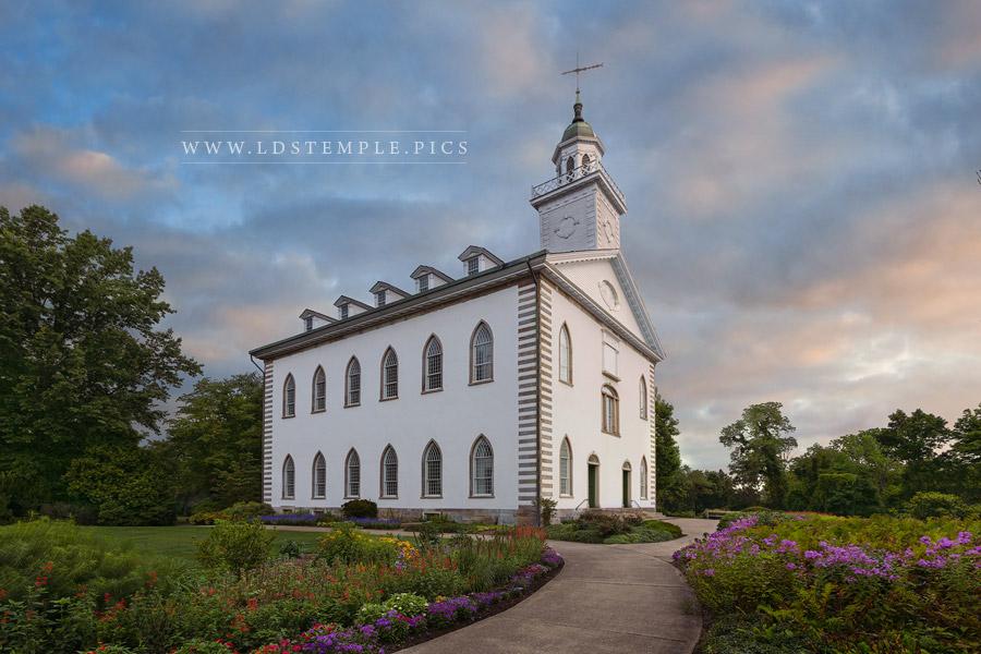 Kirtland Temple Sunrise Print