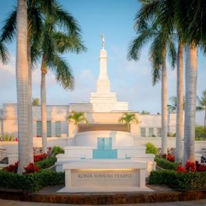 kona-temple-fountain-sunset
