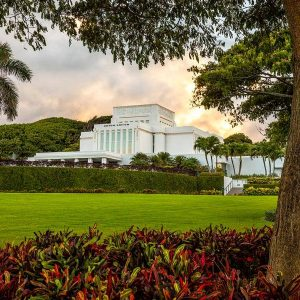 laie-temple-october-sunset