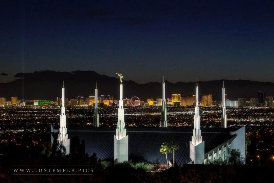 Las Vegas Temple – with The Strip
