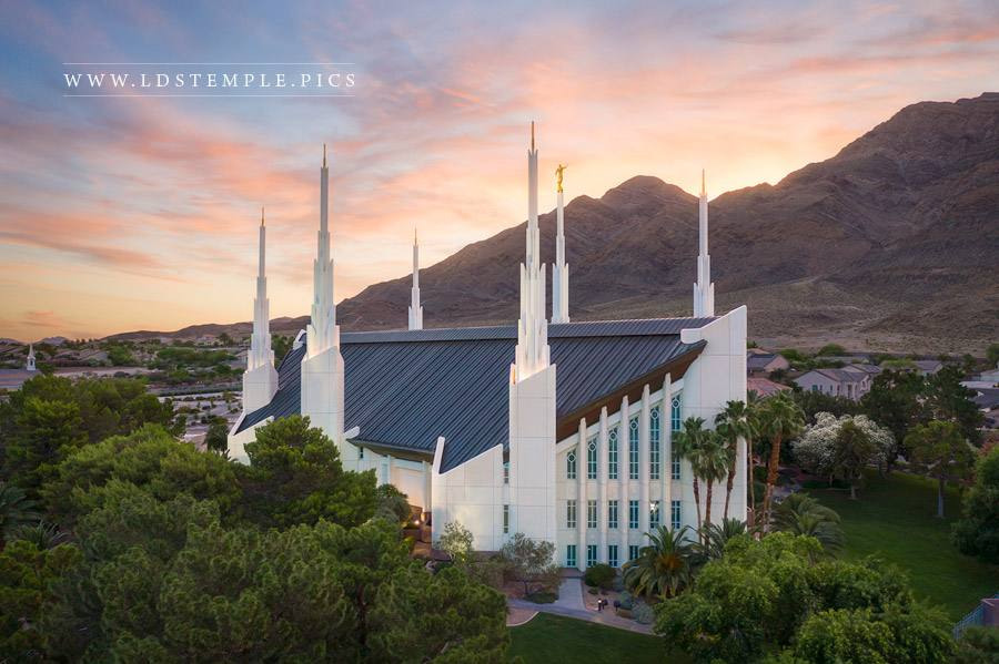 Las Vegas Temple – Heavenly Light