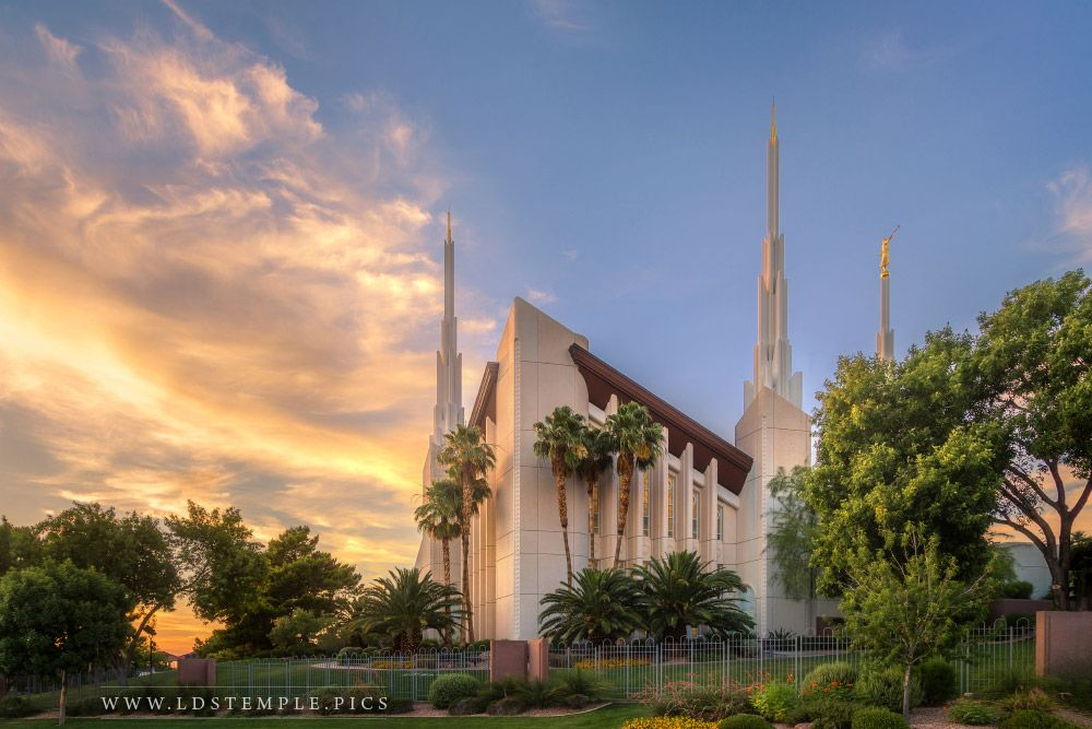 Las Vegas Temple – Sunset Northwest