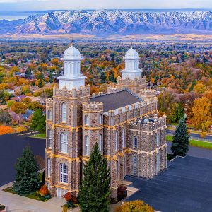 logan-temple-autumn-day-aerial-vertical
