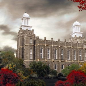 logan-temple-autumn-morning-painting