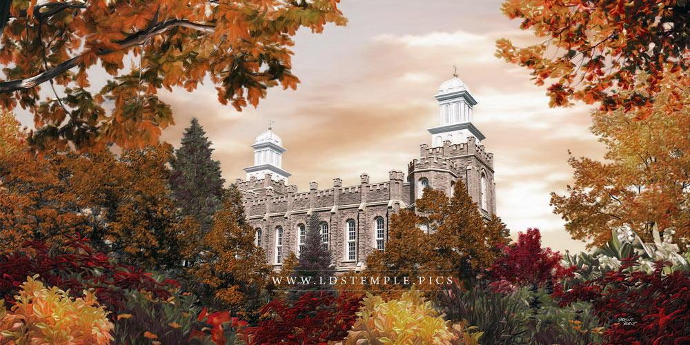 Logan Temple – Autumn Painting