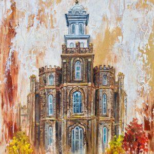 logan-temple-cold-wax-oil-painting