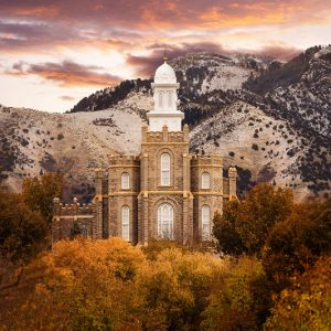 logan-temple-fall-sunrise