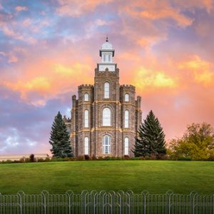 logan-temple-fall-sunset-panoramic