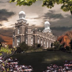 logan-temple-light-in-the-storm-painting
