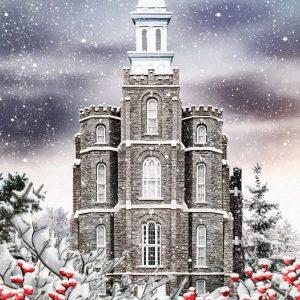 logan-temple-painting-winter-wonderland