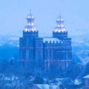 logan-temple-winter-evening