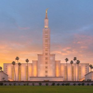 los-angeles-temple-sunset