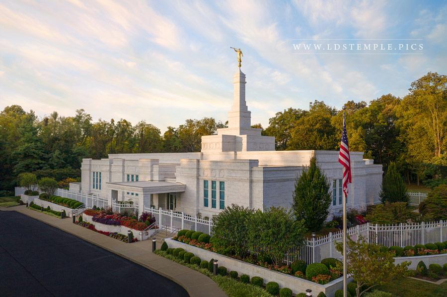 Louisville Temple – Morning Skies