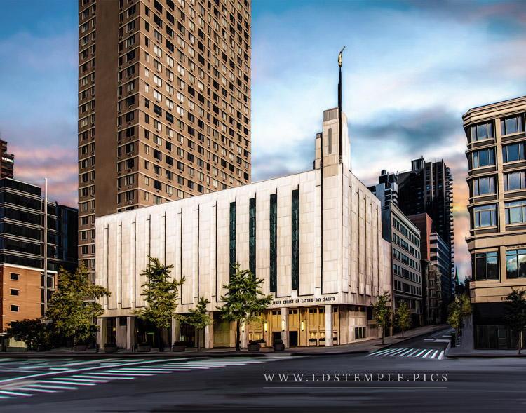 Manhattan Temple – Painting