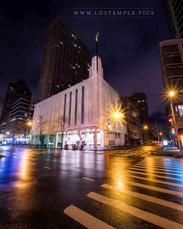 Manhattan Temple Sanctuary In the City Print