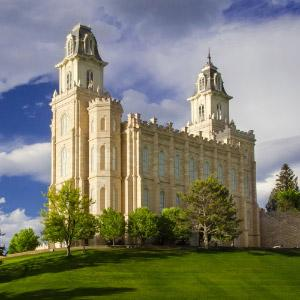 manti-utah-temple-evening-light