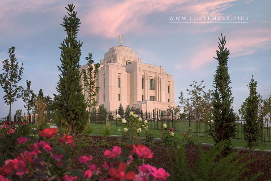 Meridian Temple A New Dawn Print