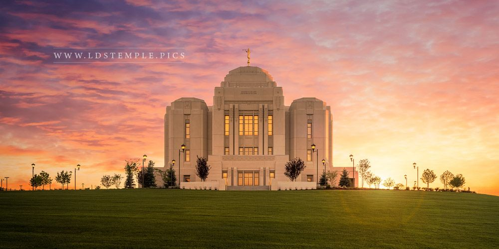 Meridian Temple High On The Mountain Top Print