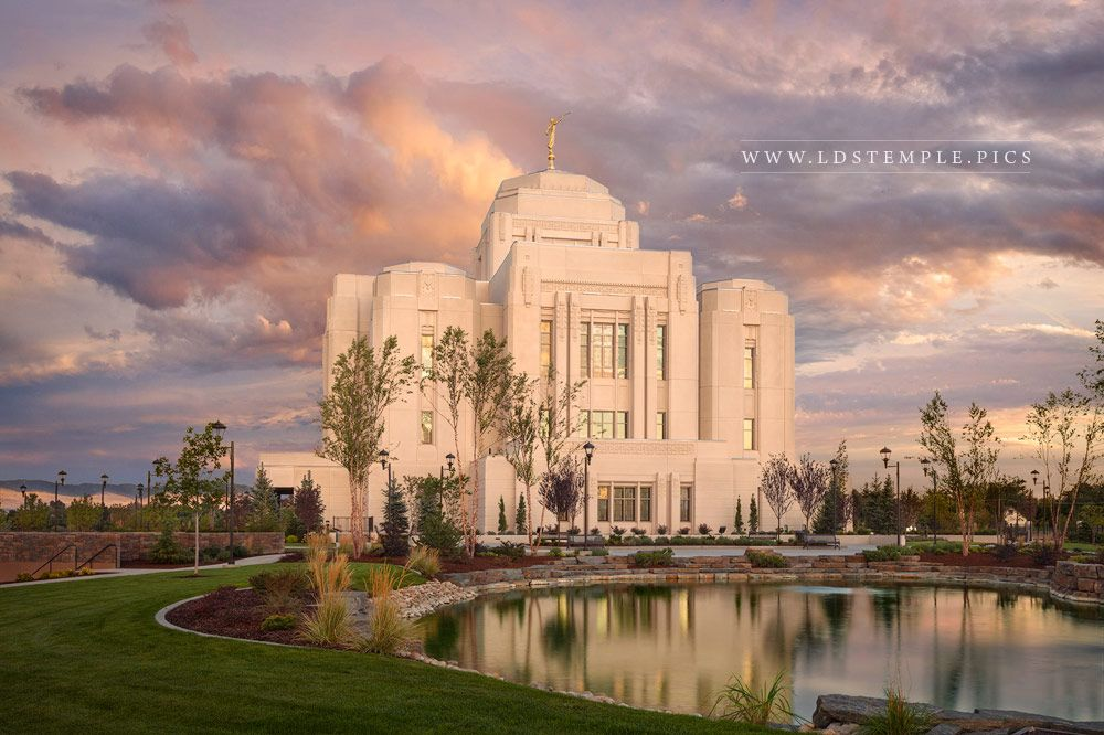 Meridian Temple September Peace Print