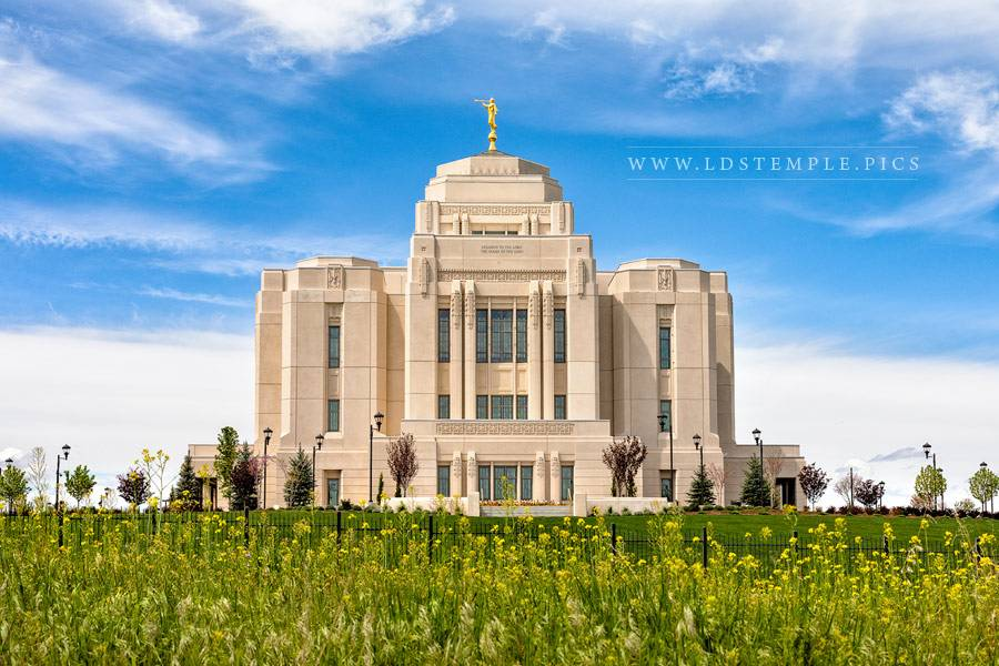 Meridian Temple Spring Day Print