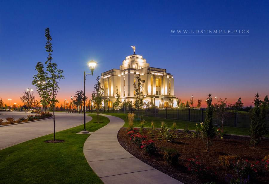 Meridian Temple To Sanctify and Prepare Print
