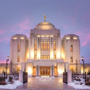 meridian-temple-winter-entrance-sunset