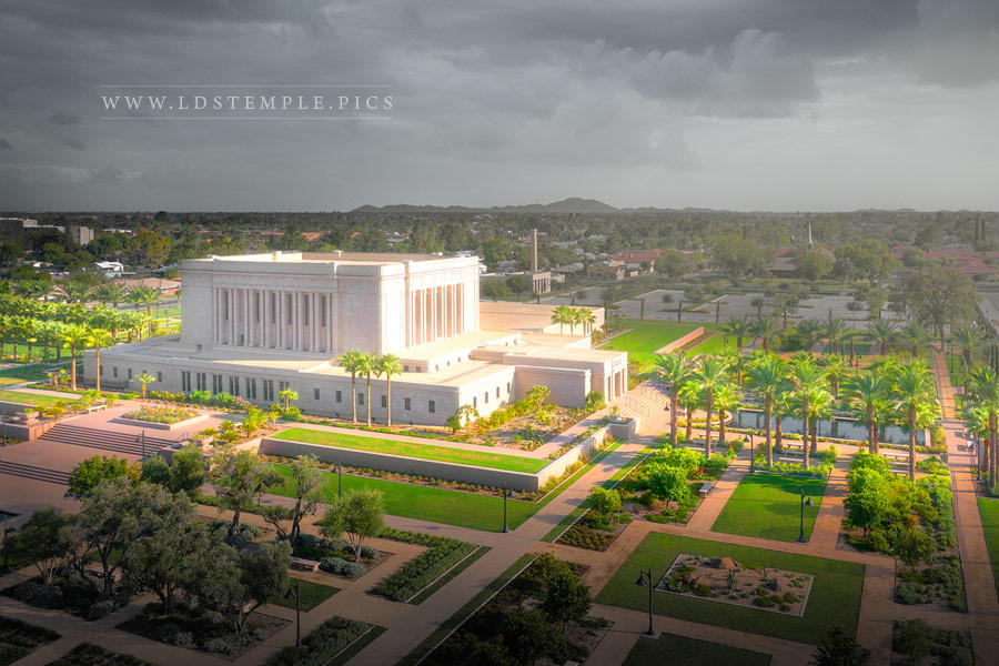 Mesa Temple – A Place of Refuge