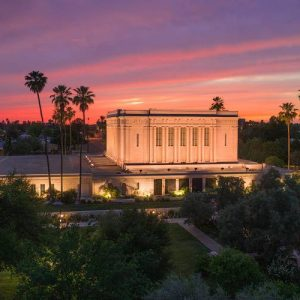 mesa-temple-aerial-sunset-west