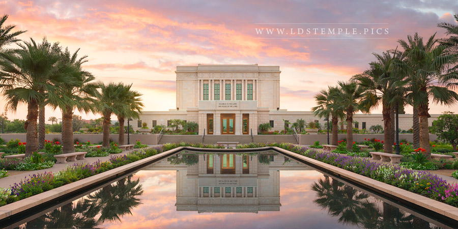 Mesa Temple – Glory To The Highest