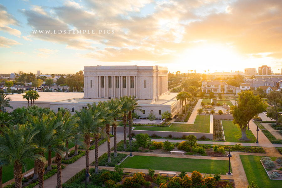 Mesa Temple – Heavenly Light