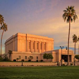mesa-temple-sunset-light