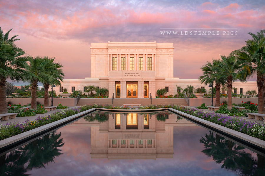 Mesa Temple The Fire Within Print