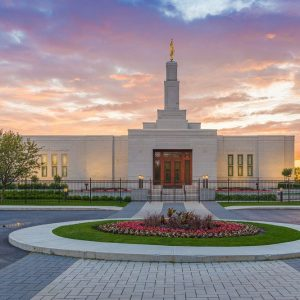 montreal-temple-summer-sunset
