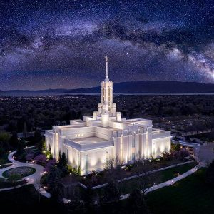 mount-timpanogos-temple-aerial-nightscape