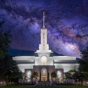 mount-timpanogos-temple-nightscape
