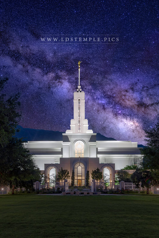 Mount Timpanogos Temple Eternal Creations Print