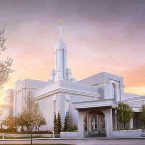 mount-timpanogos-temple-spring-morning