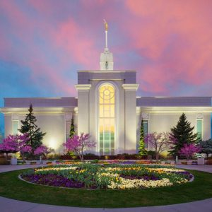 mount-timpanogos-temple-spring-sunrise