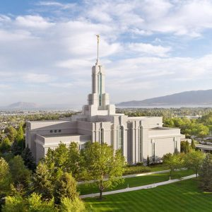 mount-timpanogos-temple-summer-day