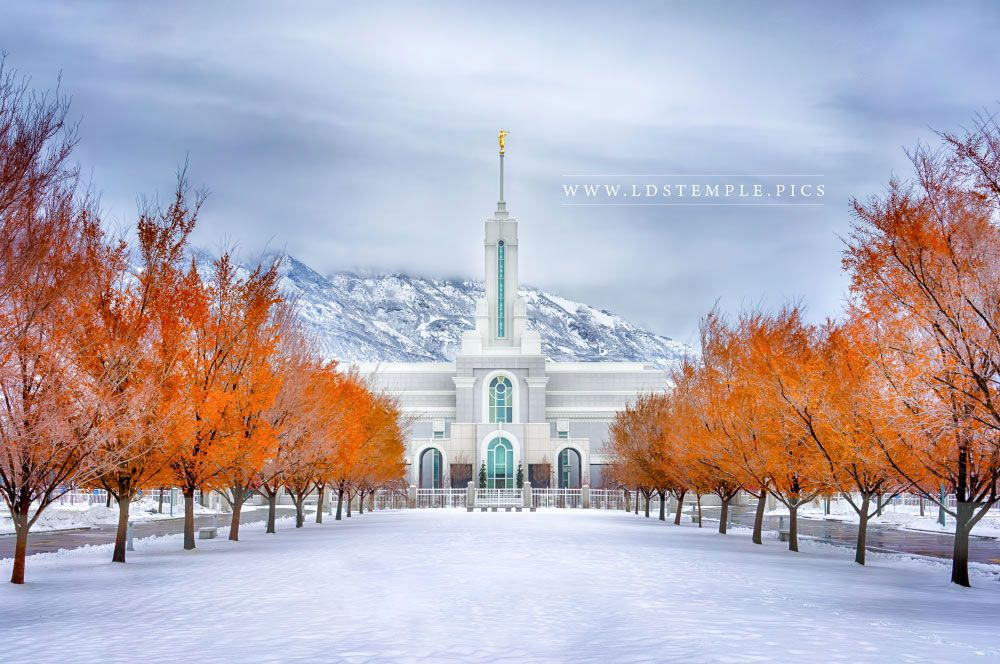 Mount Timpanogos Temple – Warmth and Truth Panoramic