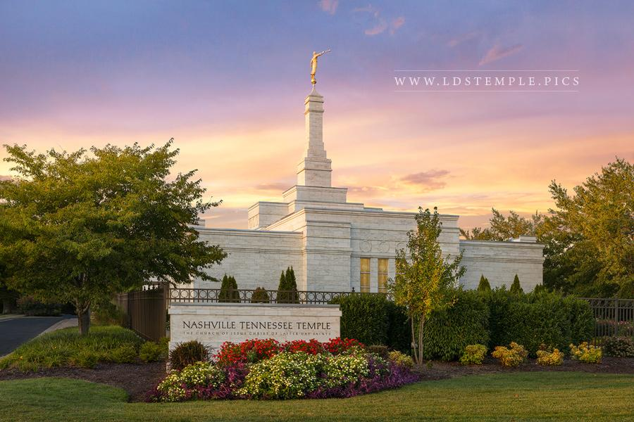 Nashville Temple Glory to the Highest Print