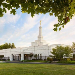 nashville temple morning skies