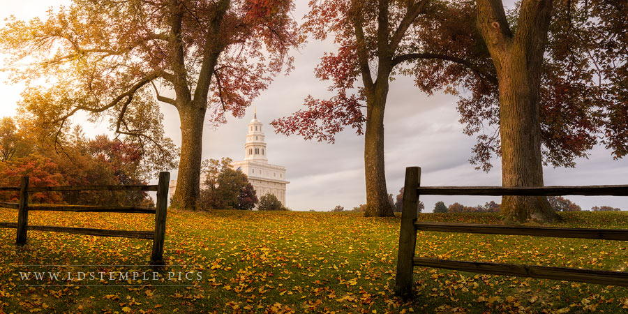 Nauvoo Temple An Ensign to the Nations Print