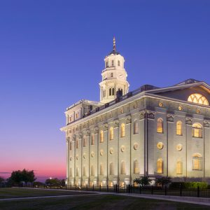 nauvoo-temple-dawn