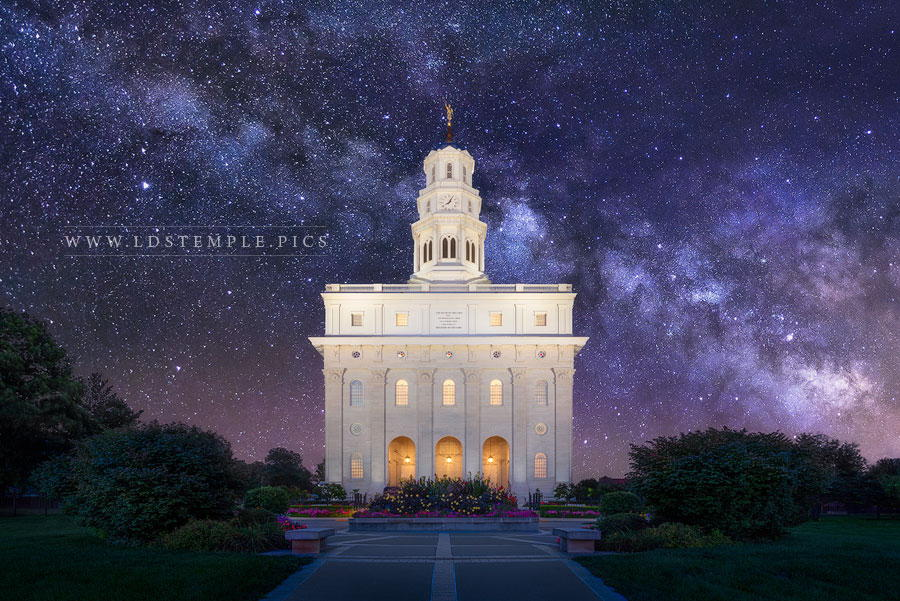 Nauvoo Temple For Eternity Print