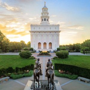 nauvoo-temple-joseph-and-hyrum-aerial-sunrise