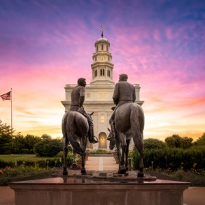 nauvoo-temple-joseph-and-hyrum-sunrise